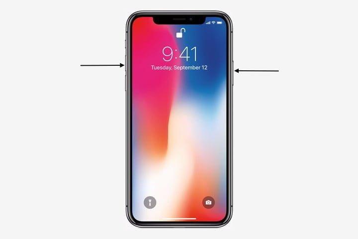 iPhone X স্ক্রিনশট