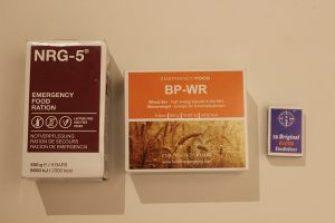 Komprimierte Notverpflegung NRG-5 und BP-WR