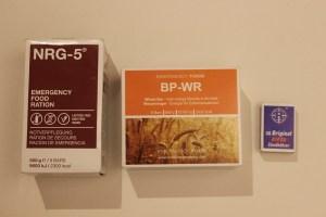 Notnahrung NRG-5 und BP-WR im Vergleich