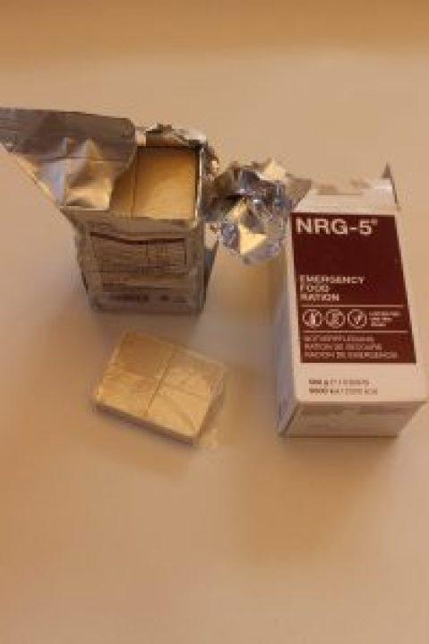 NRG-5 Packung geöffnet