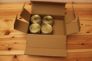 """Das Paket """"Emergency Food Pack M1""""von Conserva"""