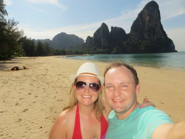 Help us take more smiling pics like this! Railay Beach, Thailand