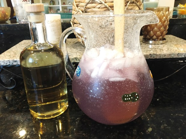 Lavender Vodka & Purple Lemonade