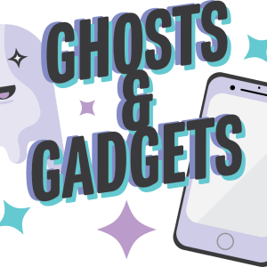 ghosts and gadgets digital art