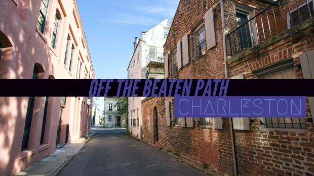 Off the beaten path Charleston