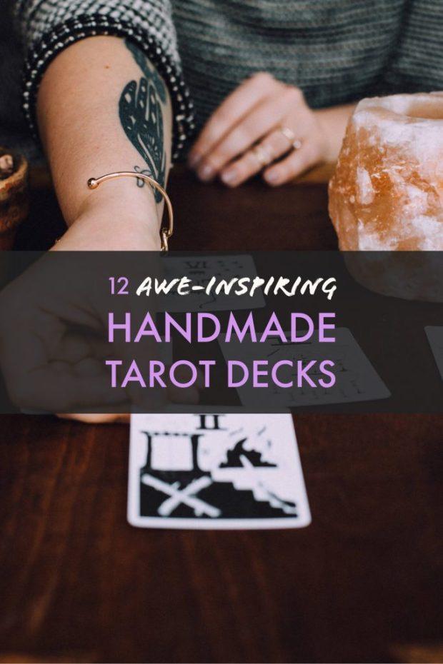 12 Awe-Inspiring, Handmade Tarot Decks