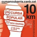 Compte enrera per a la 29ª Cursa Popular de Nou Barris