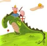 Sant Jordi i el drac a Nou Barris