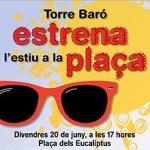 Torre Baró estrena la plaça dels Eucaliptus amb una festa