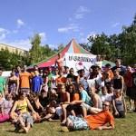L'Ateneu rep els artistes de l'Intercanvi juvenil Circus Culture 4 Europe