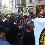 Nou Barris Cabrejada diu prou a la plaça de Sant Jaume
