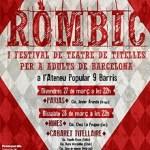 Arriba el Rombic, el nou festival de titelles per a adults