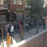 La vaga general a Nou Barris