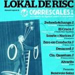 Lokal de Risk solidari amb el moviment Correscales