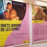 Una exposició per denunciar la vulneració dels drets de les dones