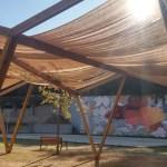L'Ateneu de Fabricació de Ciutat Meridiana construeix una pèrgola per al barri