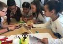 Els alumnes de tres centres ajuden a dissenyar les zones de jocs infantils al Parc Central
