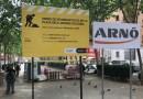 Comença la reurbanització de la plaça dels Jardins d'Alfàbia