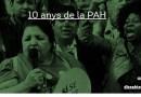 La PAH celebra a Nou Barris el seu 10è aniversari