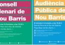 Nou Barris reprén l'activitat política amb l'Audiència Pública i el Consell Plenari