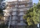 L'aspecte que pren la façana del Castell de Torre Baró no agrada als veïns