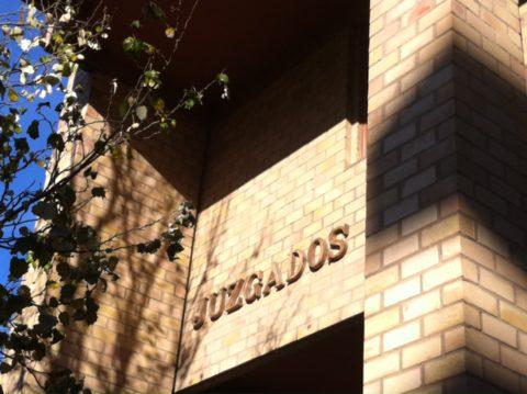 La fachada de los juzgados de Ibiza.