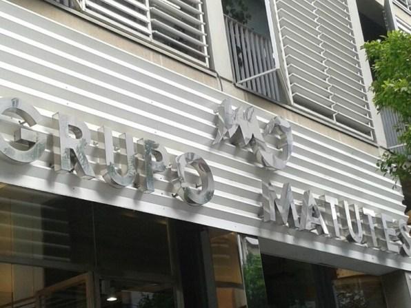 Fachada de la oficina del Grupo de Empresas Matutes en Vila. Foto: M.S.