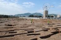 Imagen de los restos hallados en Puig d'en Valls. Foto: D.V..