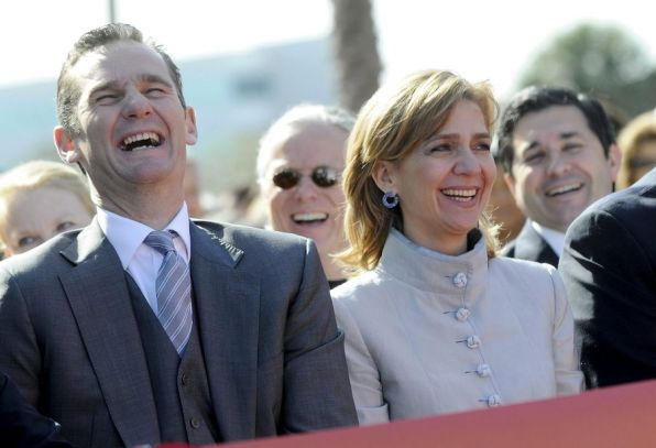 Iñaki Urdangarín i Cristina de Borbó. Foto Ara Balears