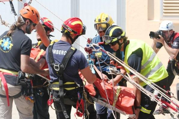 Jornadas de rescate vertical