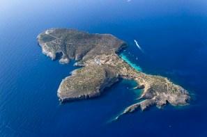Vist aérea de Tagomago. Foto: island-tagomago.com.