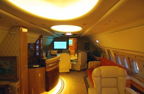 Avión privado, imagen de archivo.
