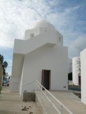 El Observatorio de Puig d'Es Molins tras su remodelación. Foto: V. R.