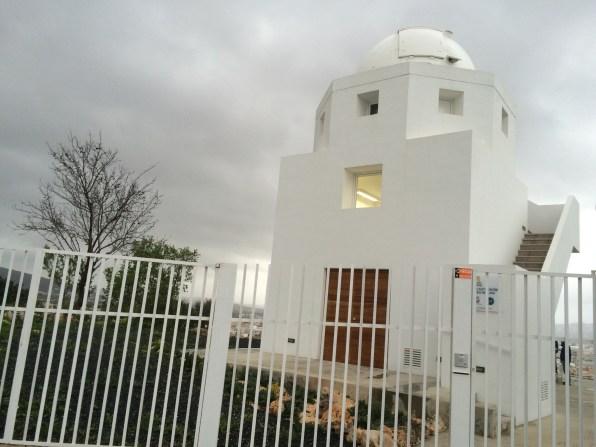 Edificio del Observatorio de Puig des Molins. Foto: L.A.