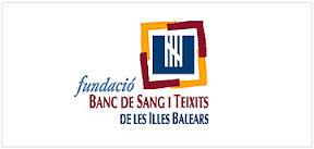 Logo de la Fundación Banco de Sangre y Tejidos de Baleares. Foto: CAIB.