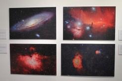 Exposición de fotografías, Agrupación Astronómica de Ibiza.