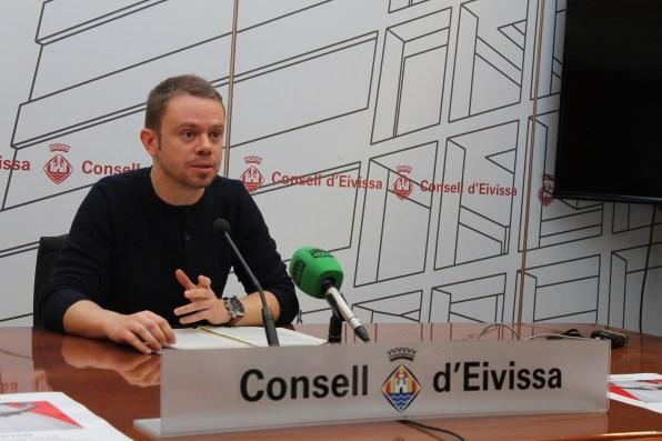 El conseller de Cultura y Patrimonio, David Ribas.