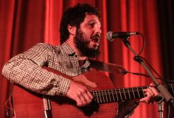 El Kanka, durante su actuación. Foto: Toni Escobar