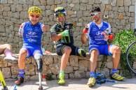 Por primera vez participan corredores de ciclismo adaptado: cuatro ciclistas olímpicos en esta categoría. Foto: Jon Izeta