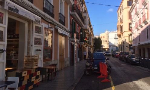 Calle Antoni Palau.