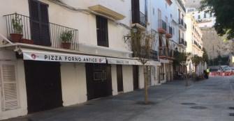 Carrer del Mestre Joan Mayans, donde se encontraba la zapatería Tarrés.