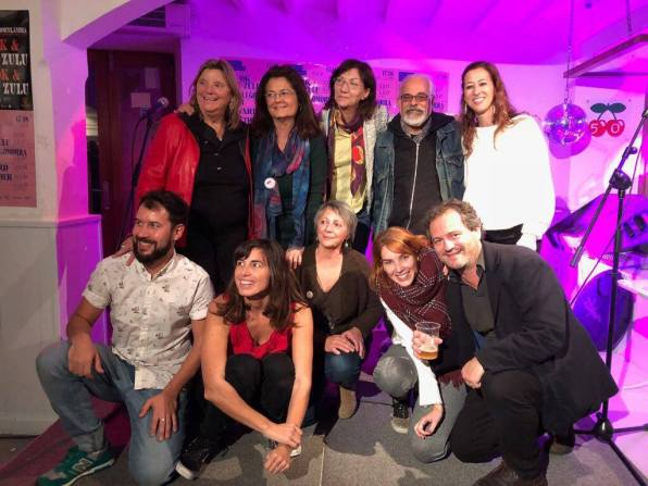 Imagen de la primera edición de Poetry Slam de Eivissa