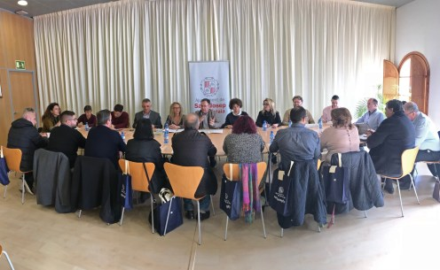 La Mesa de Turismo de Sant Josep se ha celebrado esta mañana en el Consistorio.