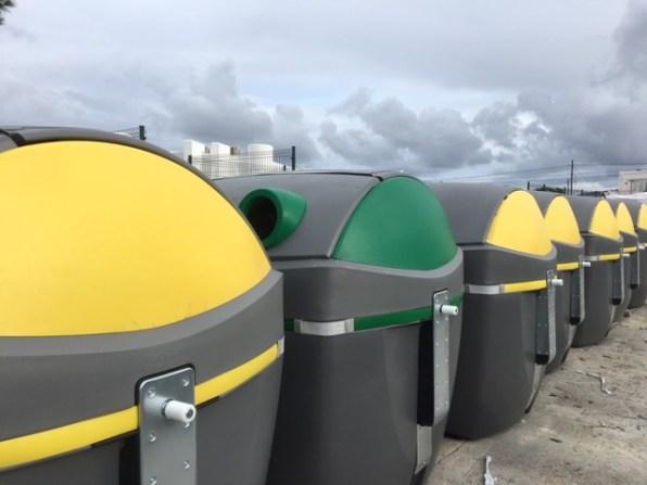 Sant Antoni inicia la sustitución de más de 650 contenedores de residuos