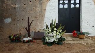 Acte memòria històrica al cementiri de Sant Ferran de Formentera.