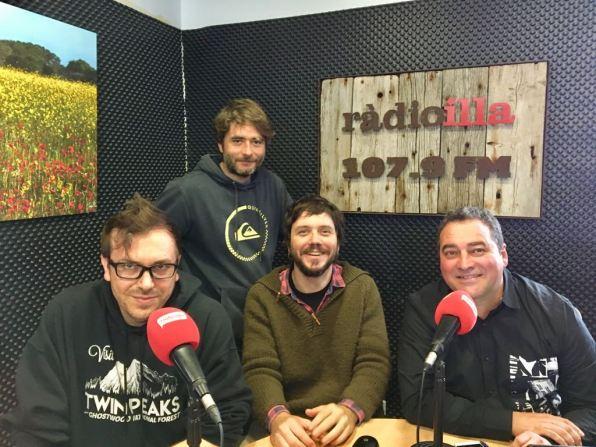 Foto equip de Ràdio Illa