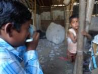 Fujifilm Instax Semilla para el Cambio grupo 4 slums tomando fotos 2000