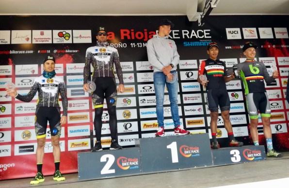 Morcillo, segundo en La Rioja Bike Race 2018.