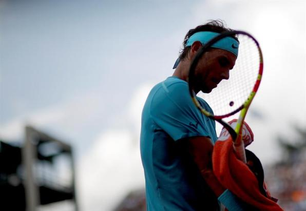 Nadal, en Roland Garros. EFE/Yoan Valat