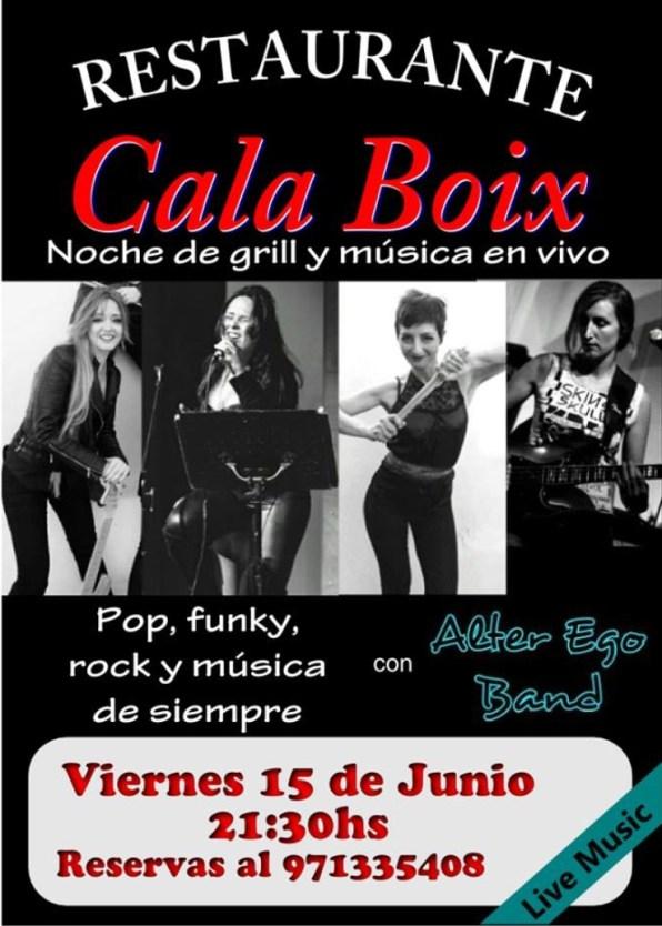 Cala Boix -Alter Ego Band